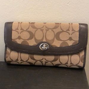 Spacious Coach wallet